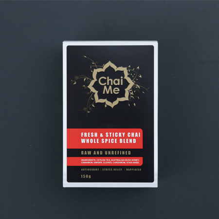 Chai Me Fresh & Sticky Chai Whole Spice Blend product shot