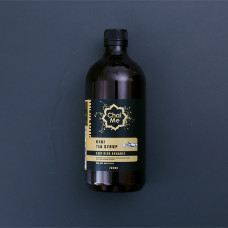 Chai Me Certified Organic Chai Syrup product shot